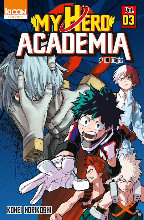 My hero academia tome 3 787425
