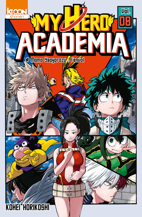 My hero academia tome 8 894528