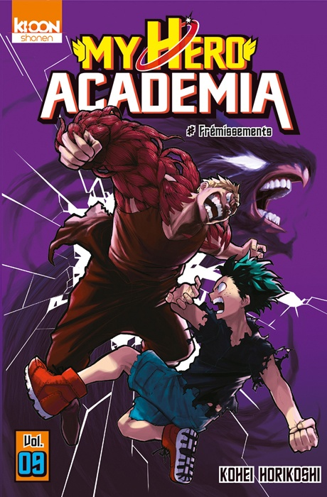 My hero academia tome 9 943271